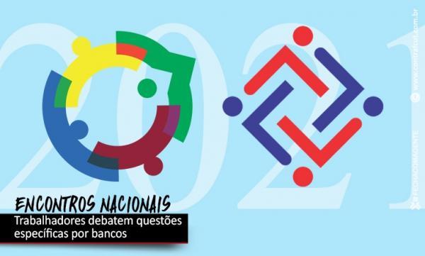 Encontros nacionais por bancos acontecem entre os dias 3 e 8 de agosto